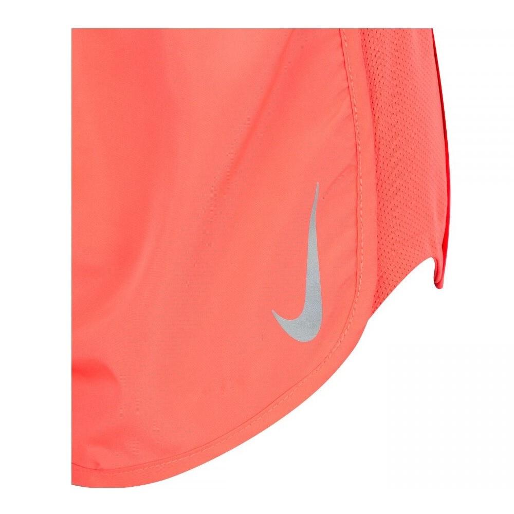 Shorts Nike Tempo Short Hi Cut Feminino Laranja