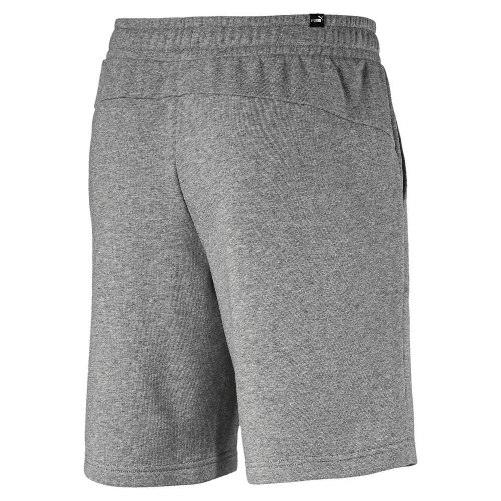 Shorts Puma Essentials Sweat 10 - Masculino Cinza