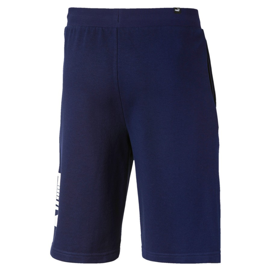 Shorts Puma Rebel 9 Masculino Azul Marinho