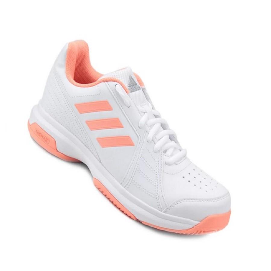 Tênis Adidas Aspire Feminino Branco Laranja