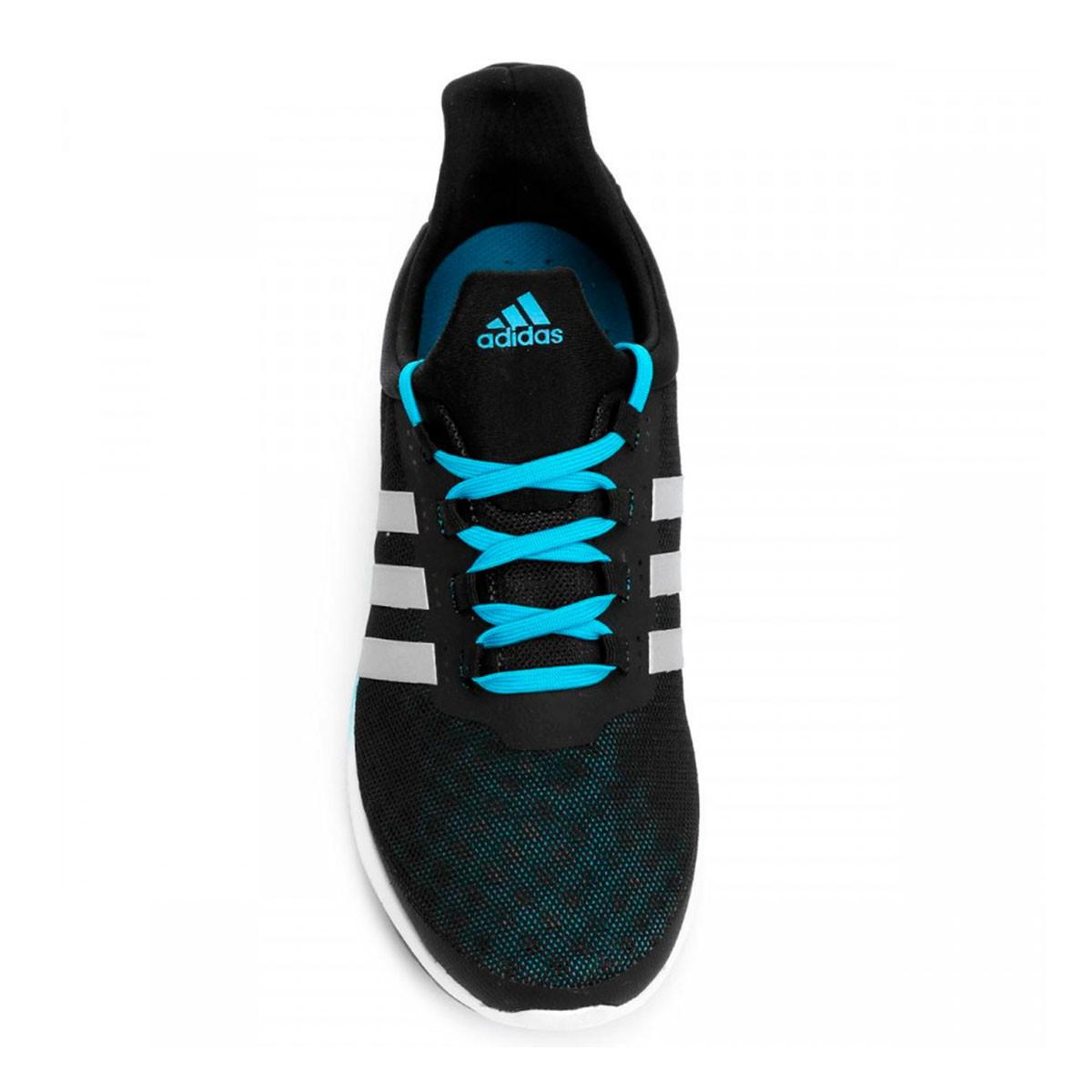 Tênis Adidas CC Sonic Bounce Preto Azul