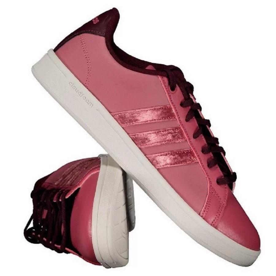 Tênis Adidas Cf Advantage W Feminino Bordô