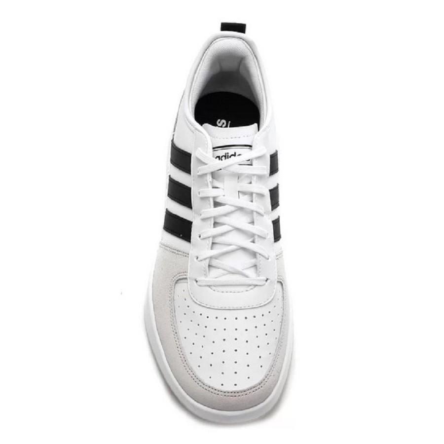 Tênis Adidas Court80S Masculino Branco Preto