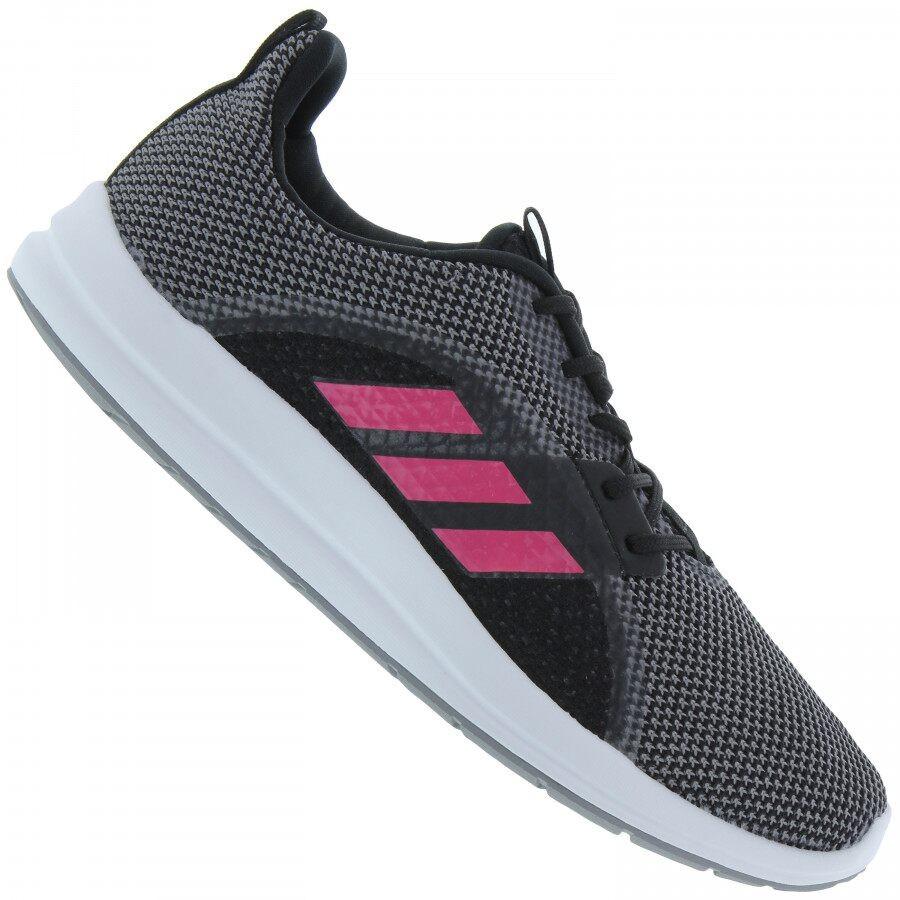 Tênis Adidas Element V Feminino Preto Rosa