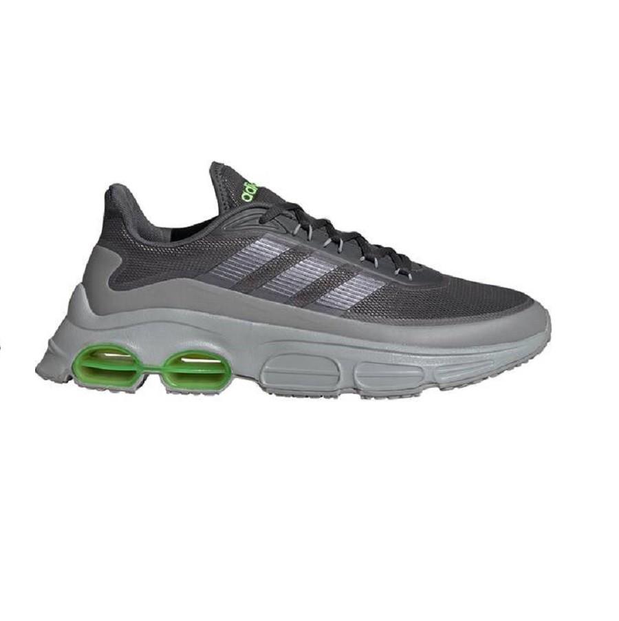 Tênis Adidas QUADCUBE Masculino Cinza Verde