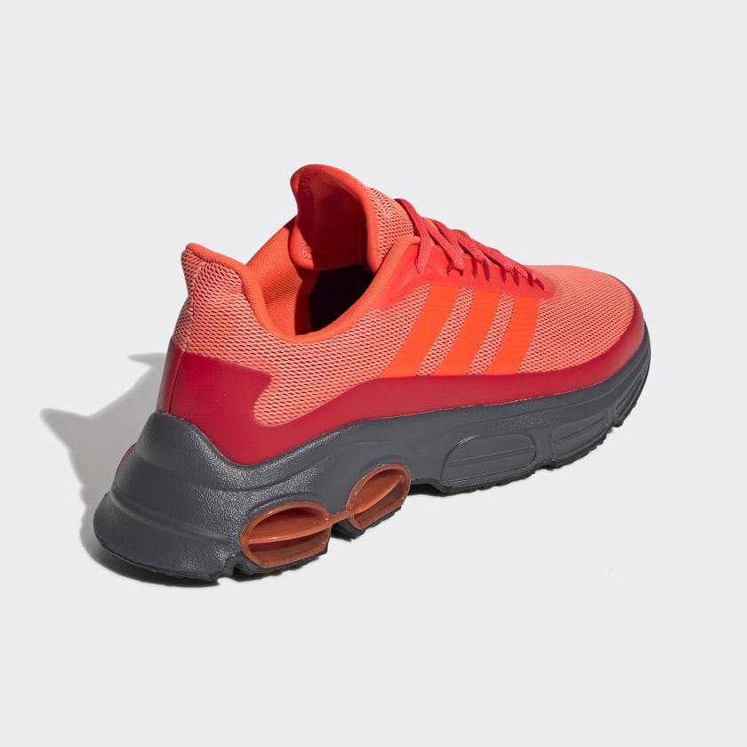 Tênis Adidas QUADCUBE Masculino Laranja Vermelho
