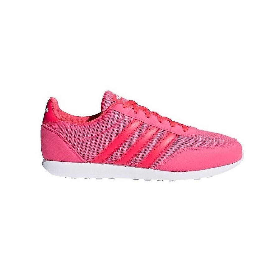 Tênis Adidas V Racer 2.0 Feminino Rosa