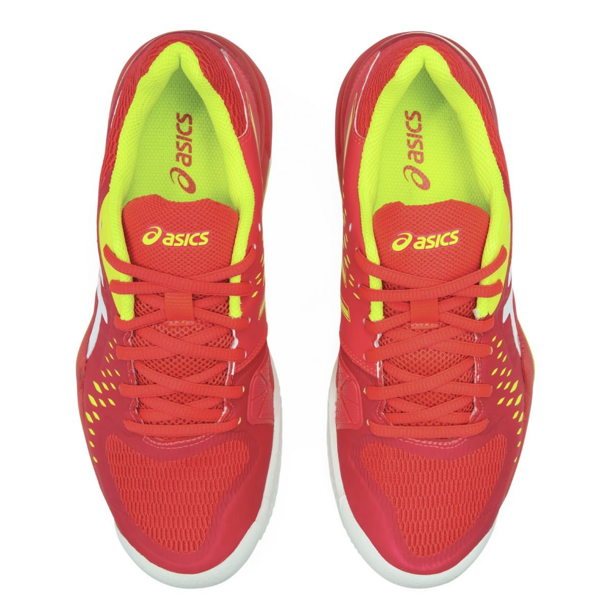 Tênis Asics Gel-Challenger 12 Clay Feminino - Rosa Neon Amarelo