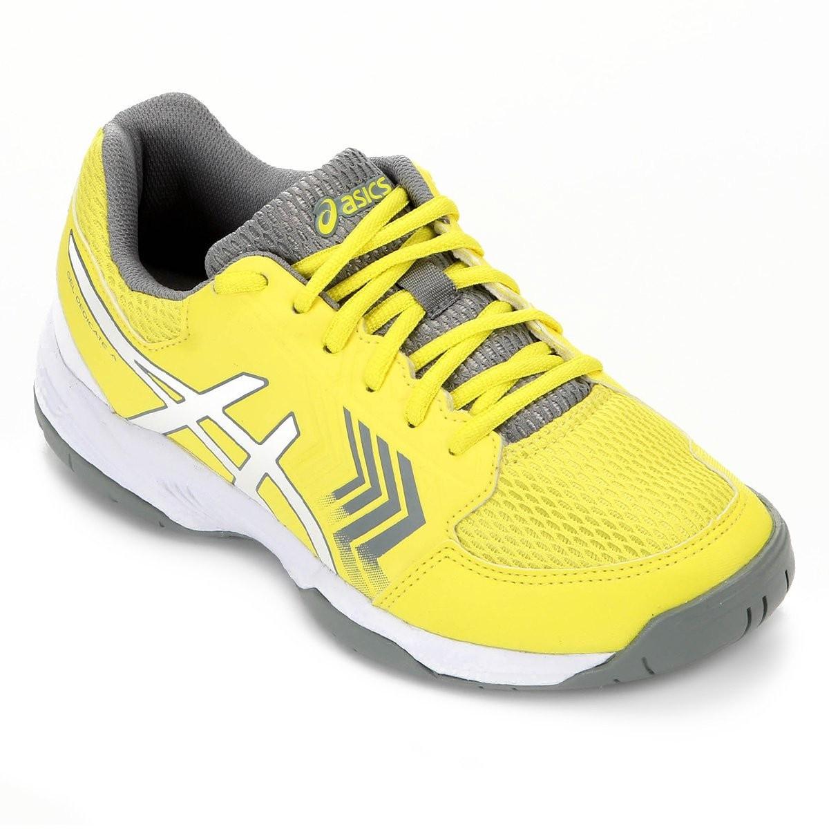 Tênis Asics Gel-Dedicate 5A Feminino - Amarelo