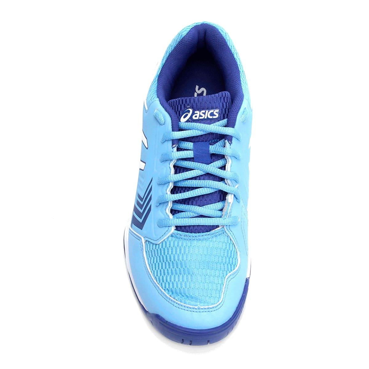 Tênis Asics Gel-Dedicate 5A Feminino Azul Claro Branco