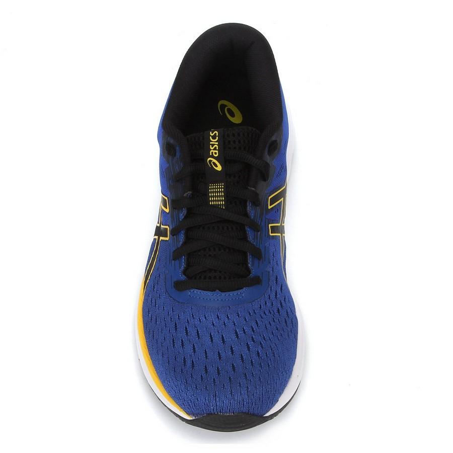 Tênis Asics Gel-Excite 7  Masculino Azul Amarelo