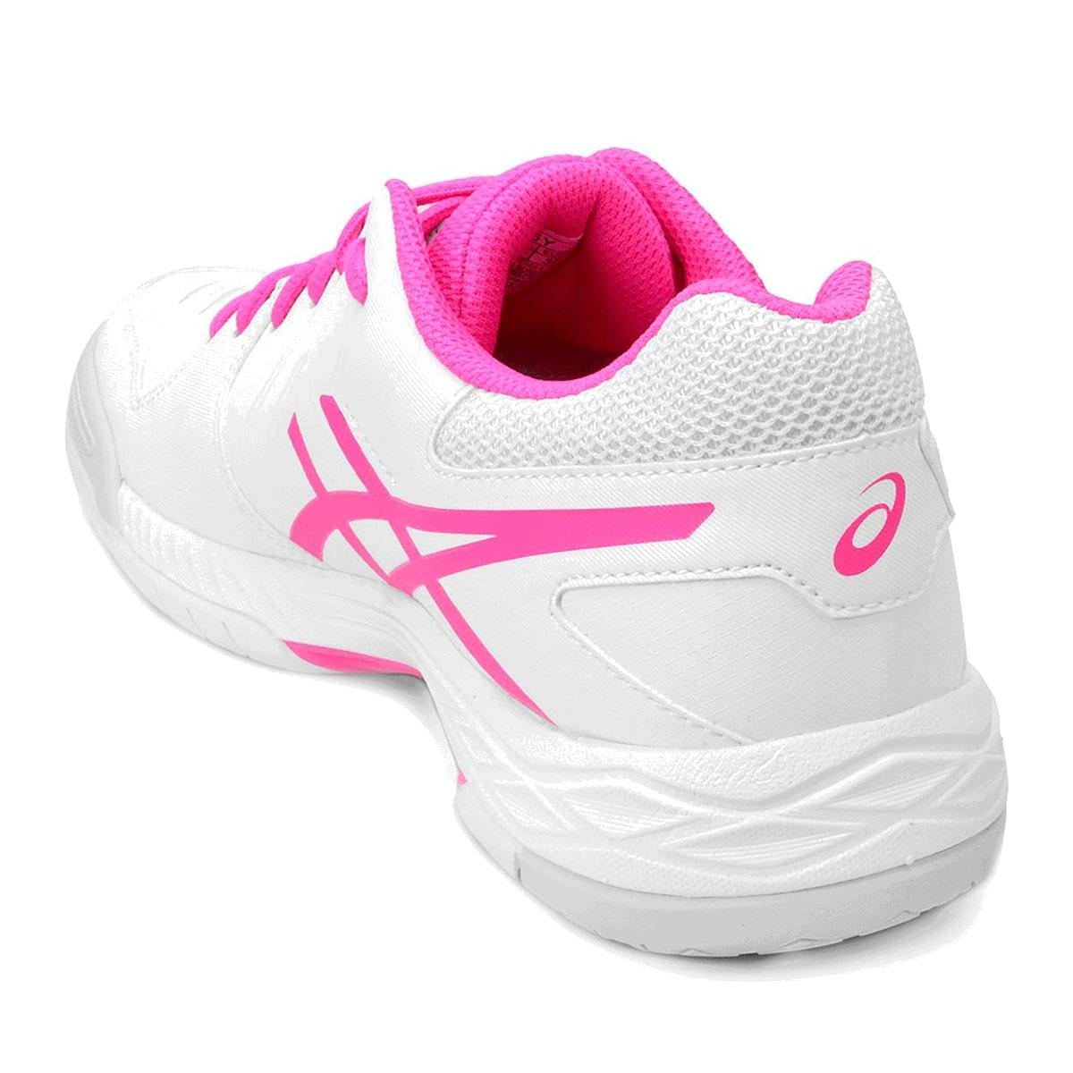 Tênis Asics Gel-Game 6 Feminino Branco Rosa