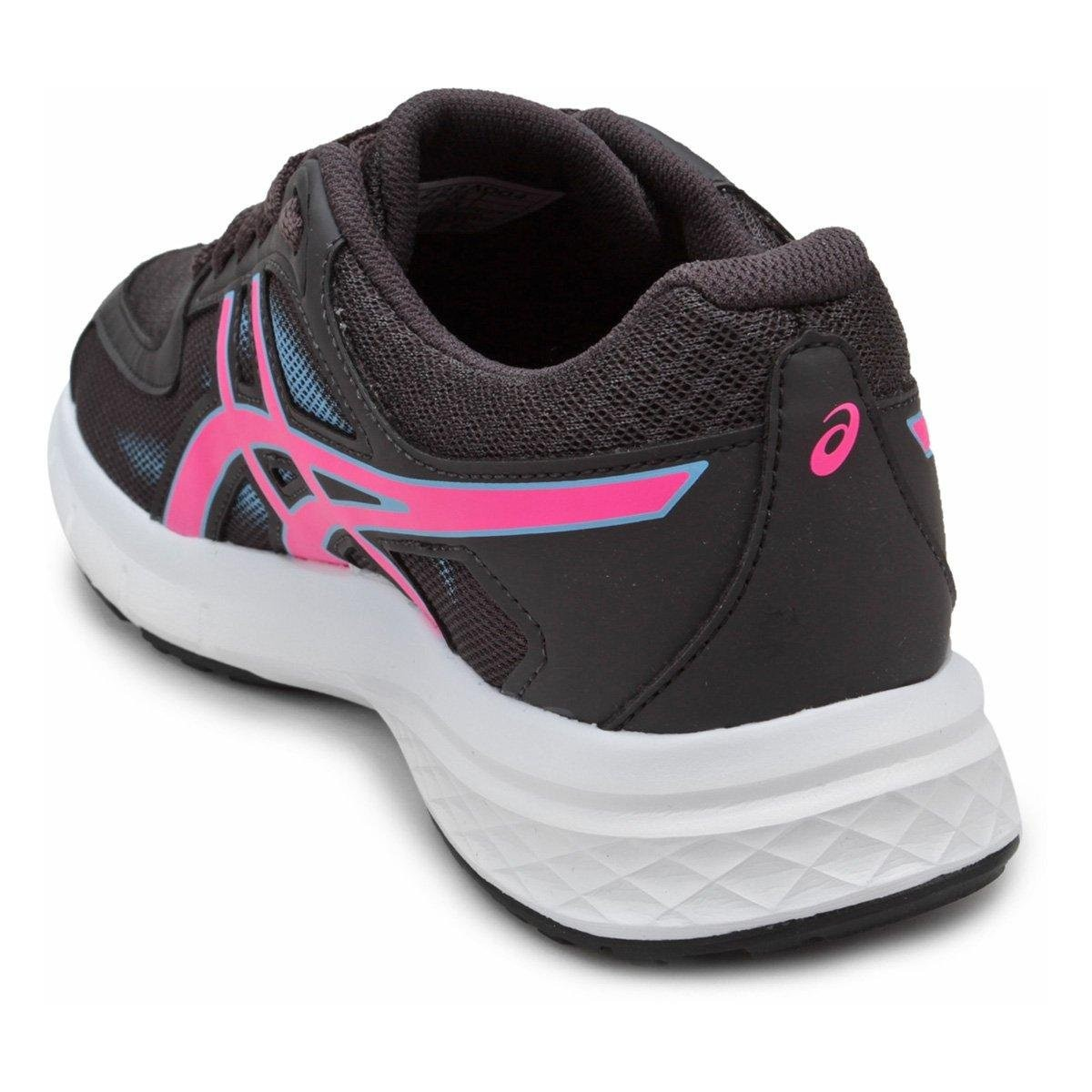 Tênis Asics Gel Transition Feminino - Grafite e Rosa