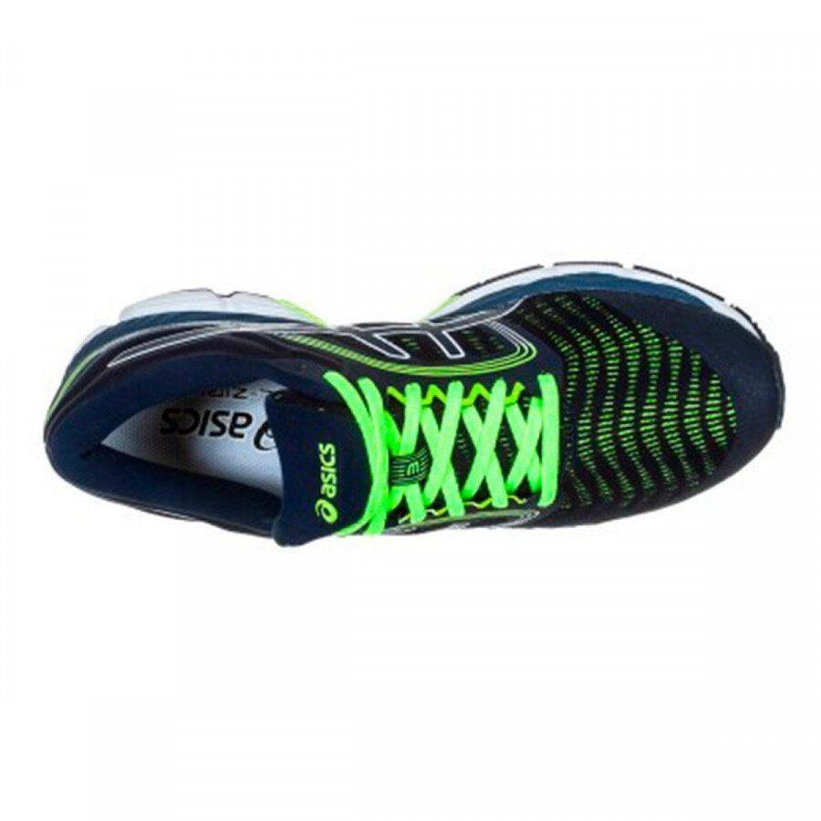 Tênis Asics Gel-Ziruss 3 Masculino Azul Verde Neon