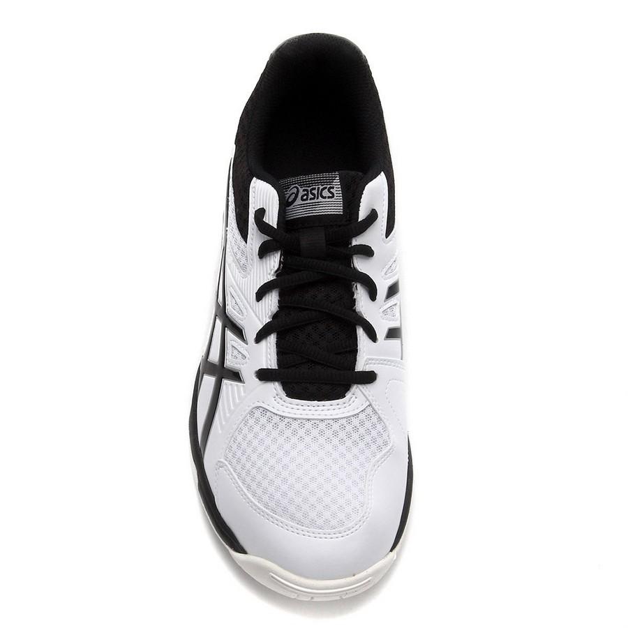 Tênis Asics Upcourt 3 Masculino Branco Preto