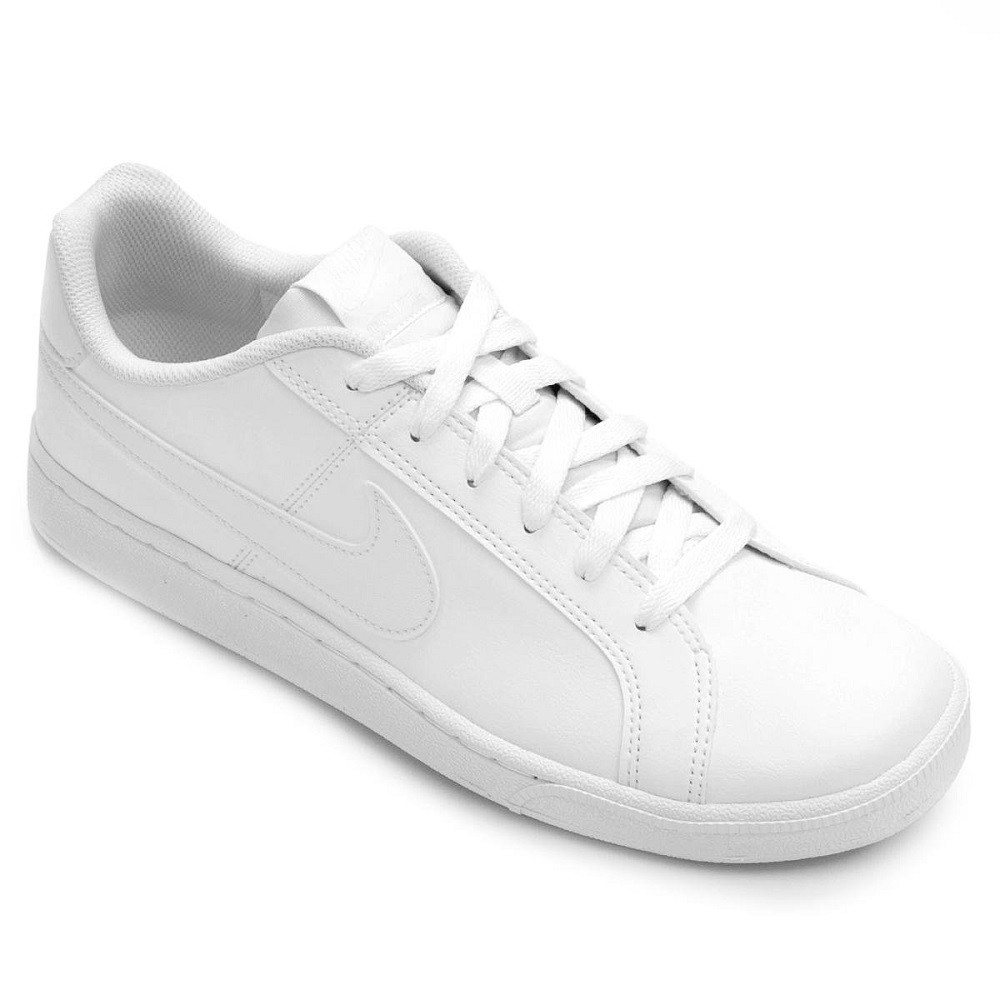 Tênis Couro Nike Court Royale Masculino Branco
