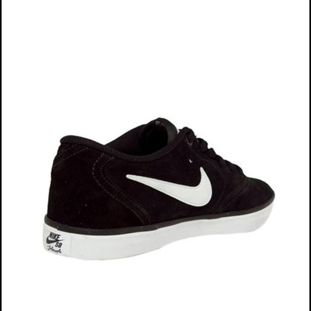 Tênis Couro Nike Sportswear SB Check Solar - Preto - Masculino