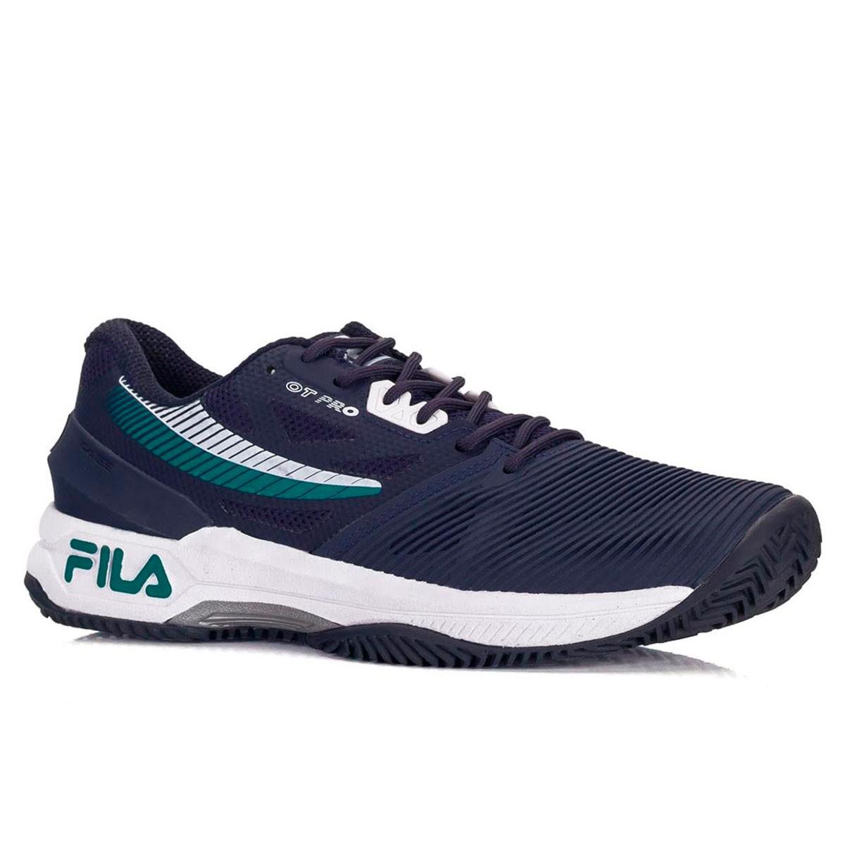 Tênis Fila OT Pro Clay Masculino Azul
