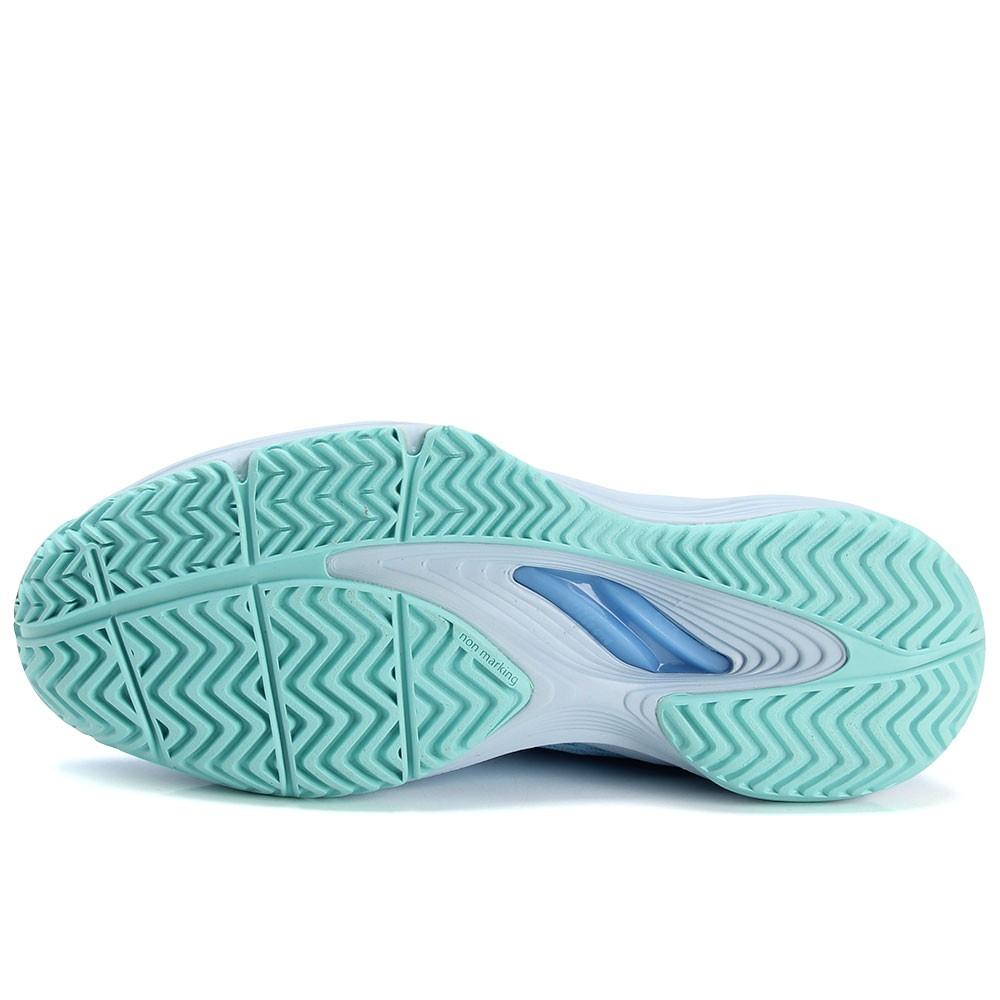 Tênis Kaos 3.0 Clay Modelo 2020 Wilson Feminino Azul Verde