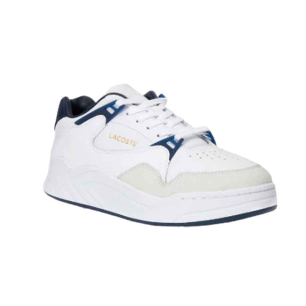 Tênis Lacoste Court Slam Masculino Branco Azul