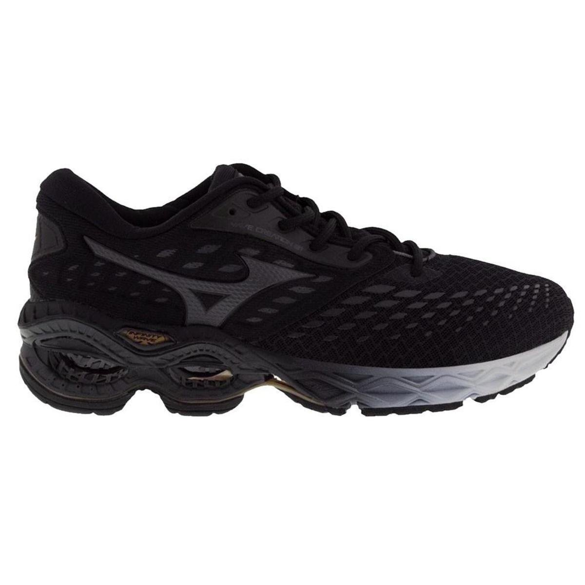 Tênis Mizuno Wave Creation 21 Feminino Preto