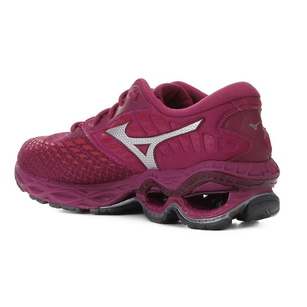 Tênis Mizuno Wave Creation 21 Feminino Rosa