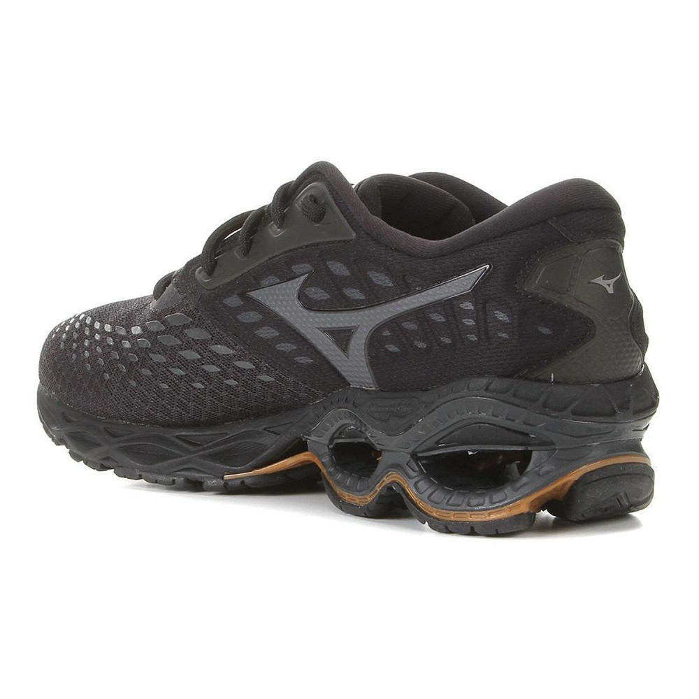 Tênis Mizuno Wave Creation 21 Masculino Preto