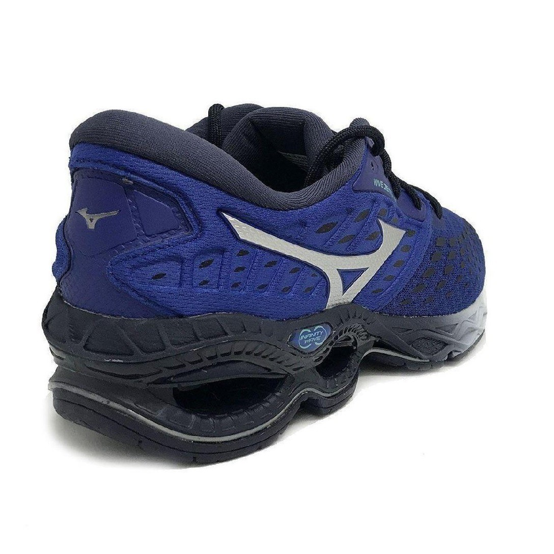 Tênis Mizuno Wave Creation 21 Masculino Preto Azul