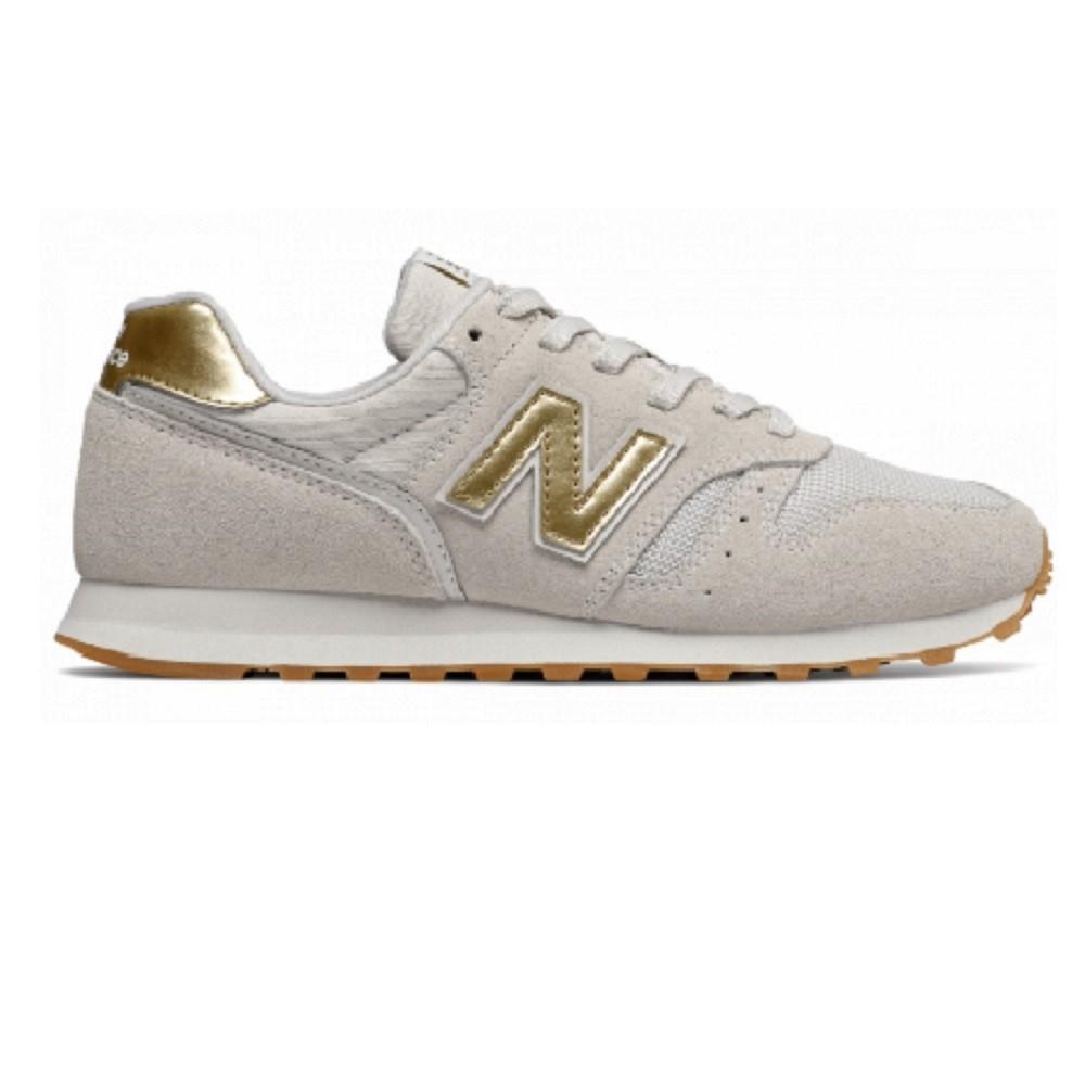 Tênis New Balance 373  Feminino Bege