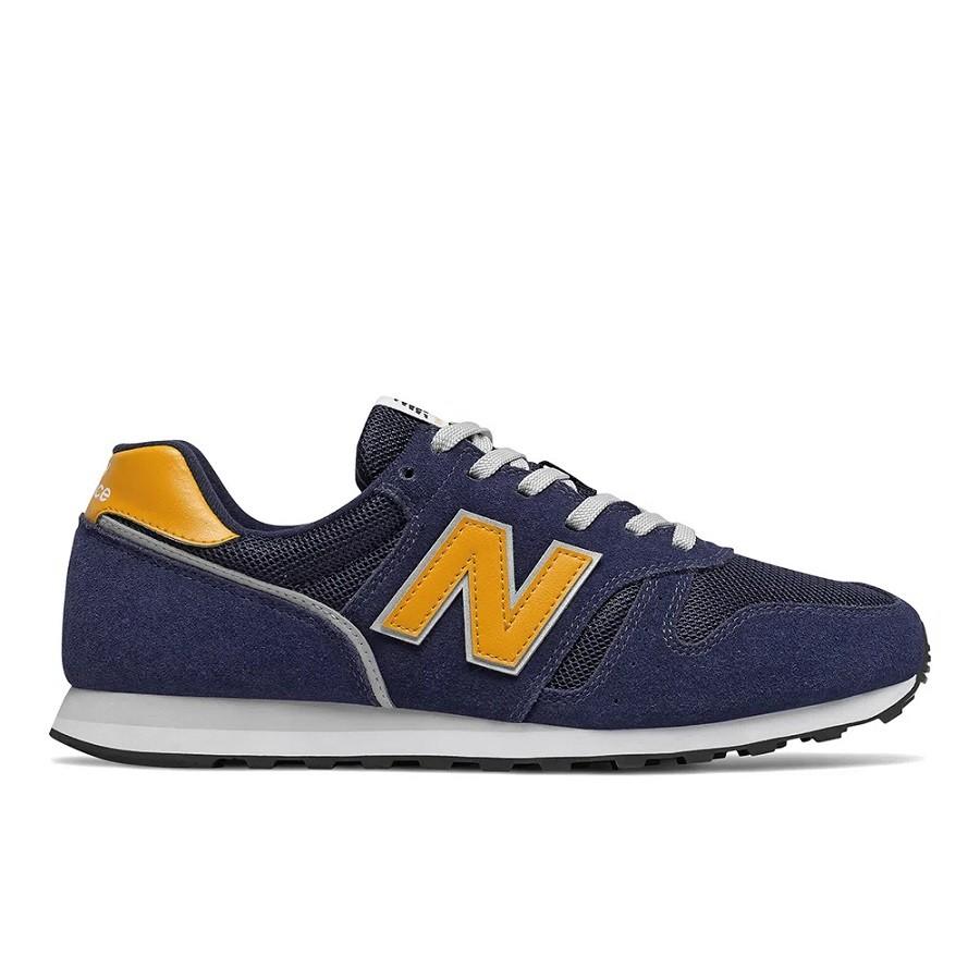 Tênis New Balance 373 Masculino Azul Amarelo