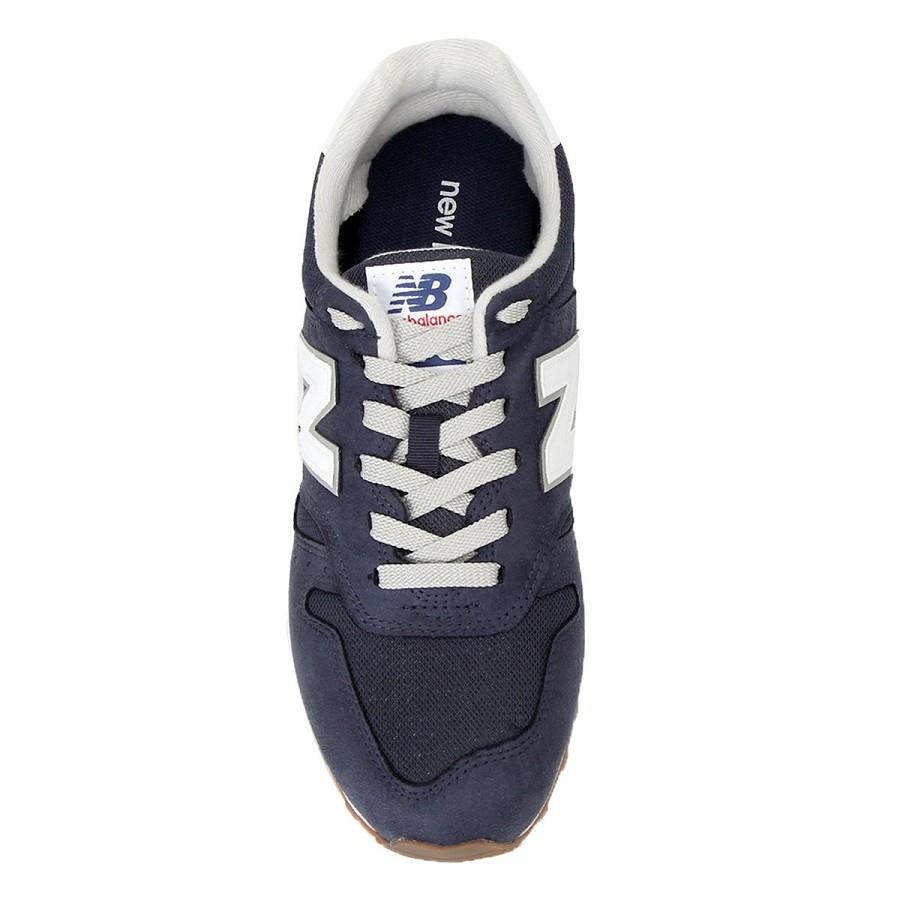 Tênis New Balance 373 Masculino Azul Branco