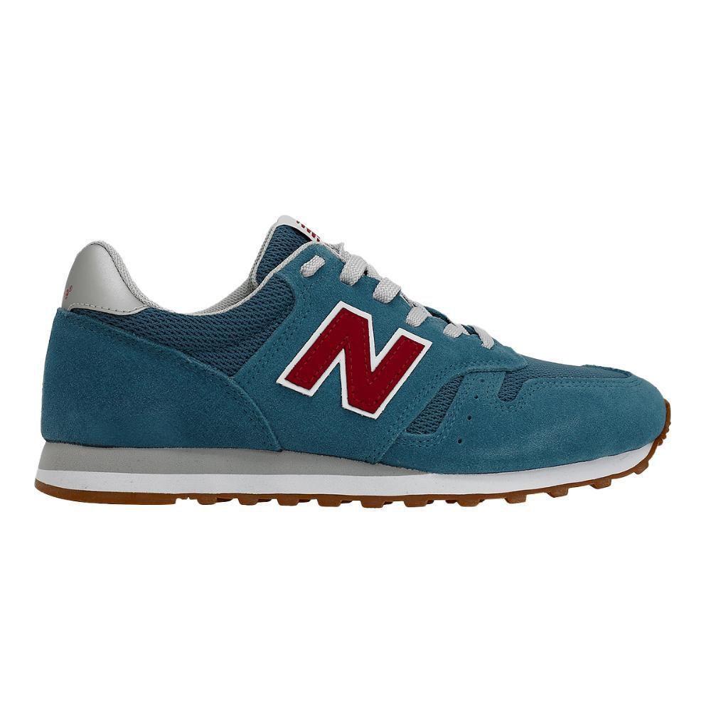 Tênis New Balance 373 Masculino Azul Claro