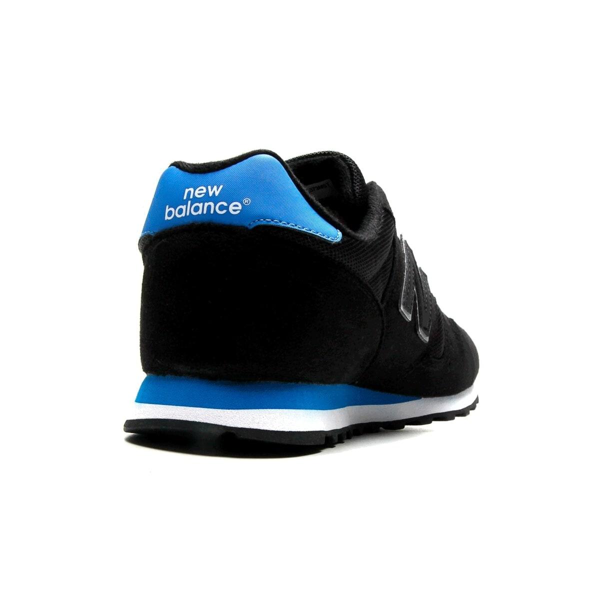 Tênis New Balance 373 Masculino Preto Azul