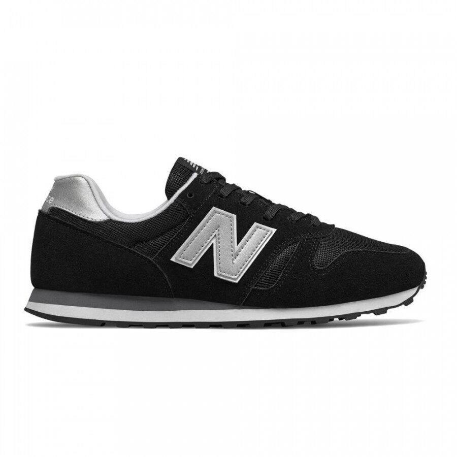 Tênis New Balance 373 Masculino Preto Prata