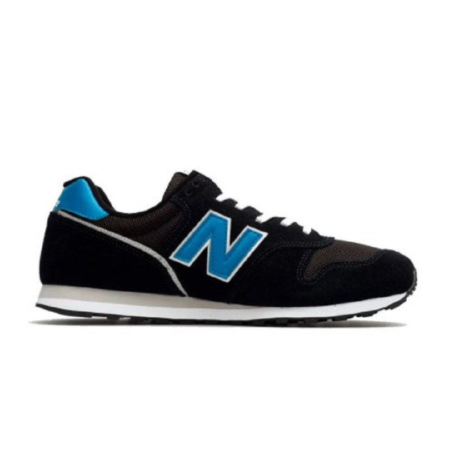 Tênis New Balance Masculino 373 Preto e Azul