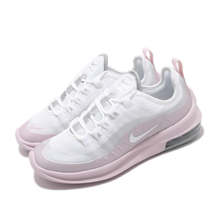 trabajo Resplandor Ir a caminar  Tênis Nike Air Max Axis Feminino Branco Rosa - N10 Sports