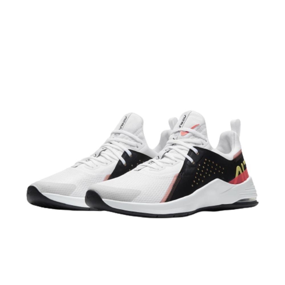 Tênis Nike Air Max Bella TR 3 Feminino Branco Preto Rosa