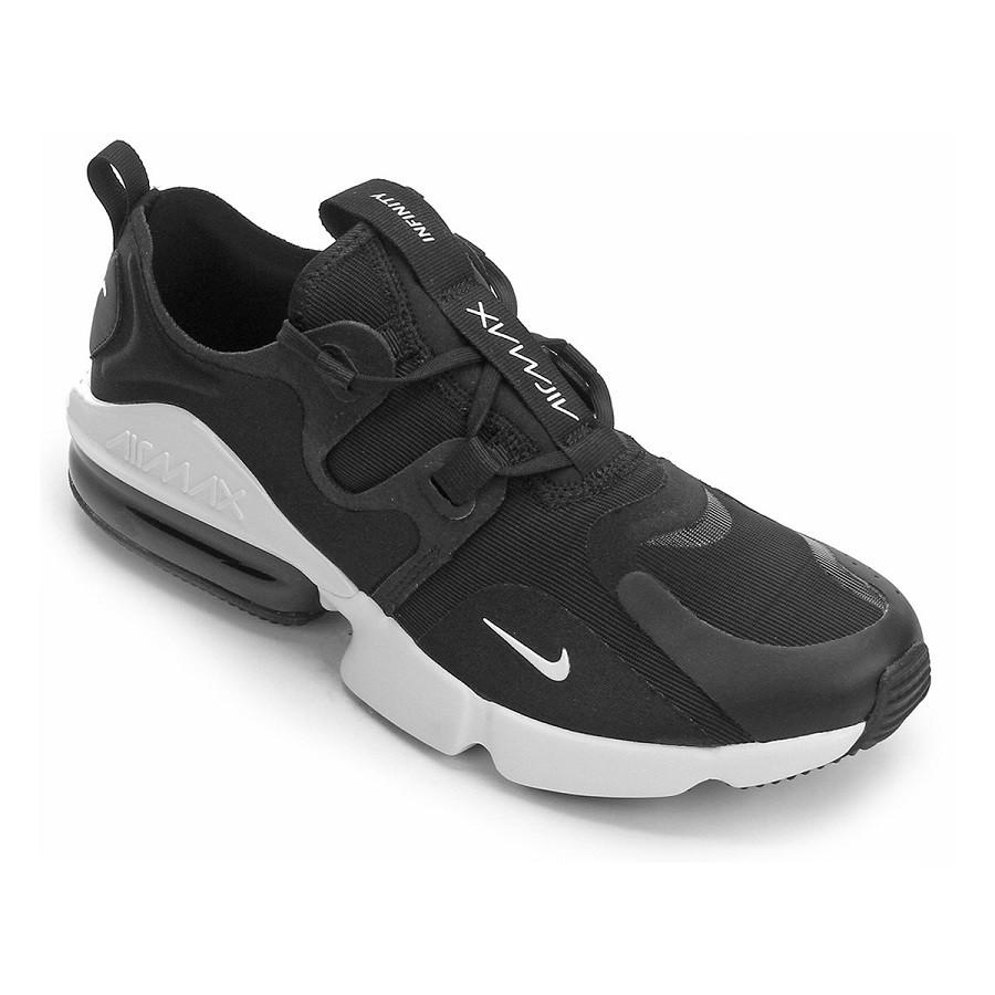 Tênis Nike Air Max Infinity Masculino Preto e Branco