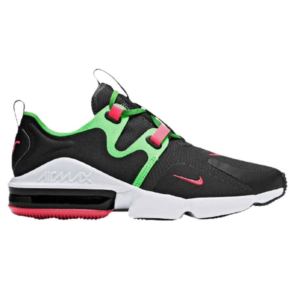 Tênis Nike Air Max Infinity Masculino Preto Verde