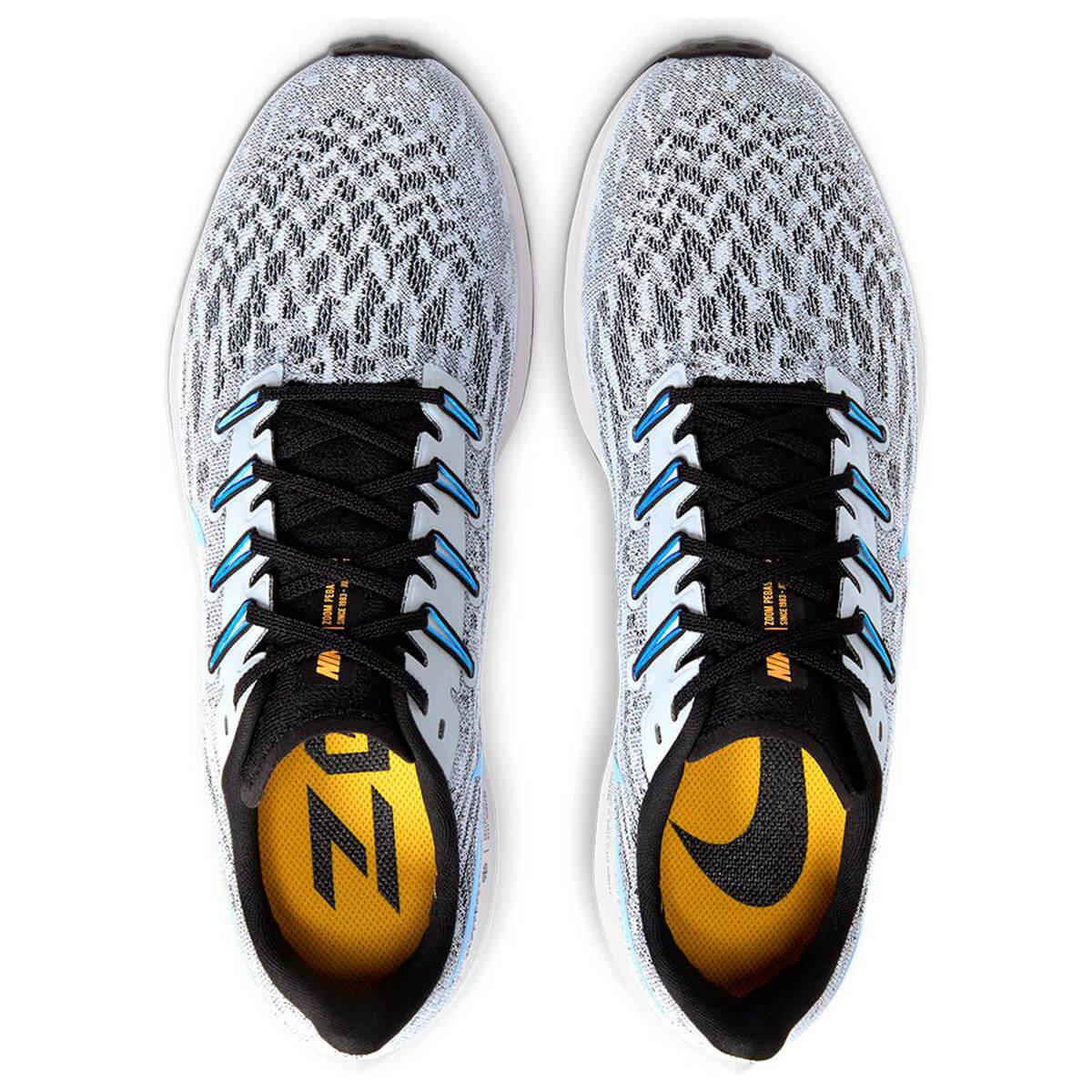 Tênis Nike Air Zoom Pegasus 36 Branco Azul Preto