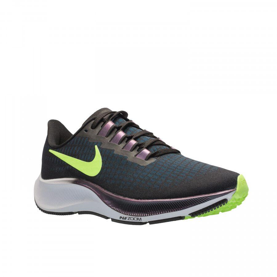 Tênis Nike Air Zoom Pegasus 37 MAsculino Preto Verde