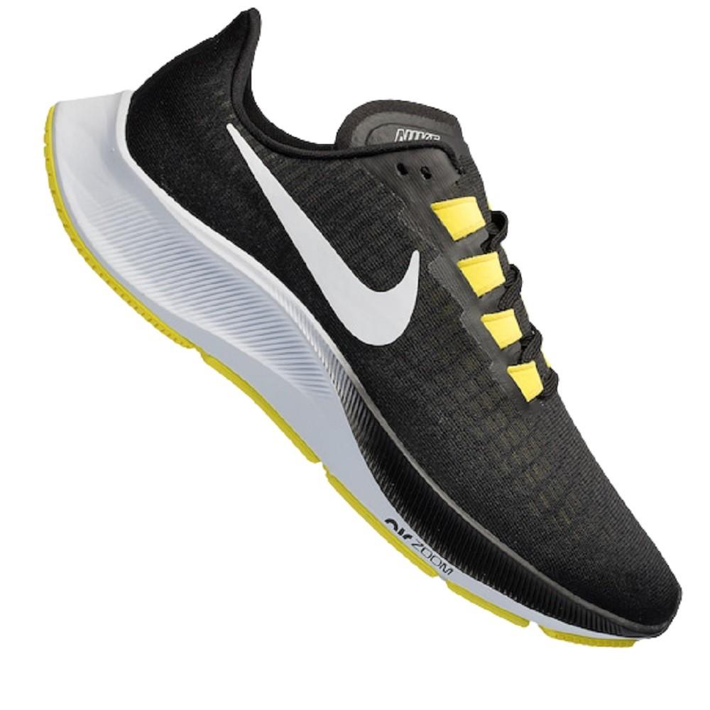 Tênis Nike Air Zoom Pegasus Masculino Preto Amarelo