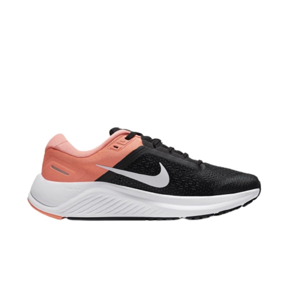 Tênis Nike Air Zoom Structure 23 Feminino Preto Coral