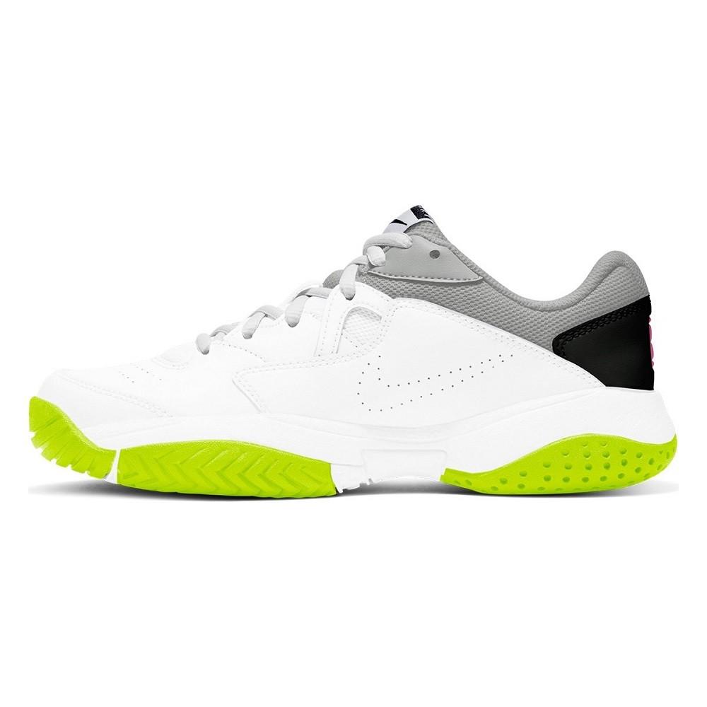 Tênis Nike Court Lite 2 Feminino Branco Cinza