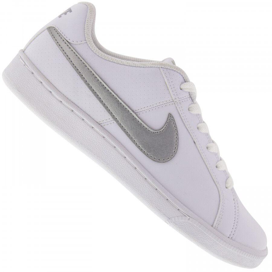 Tênis Nike Court Royale Couro Feminino Branco