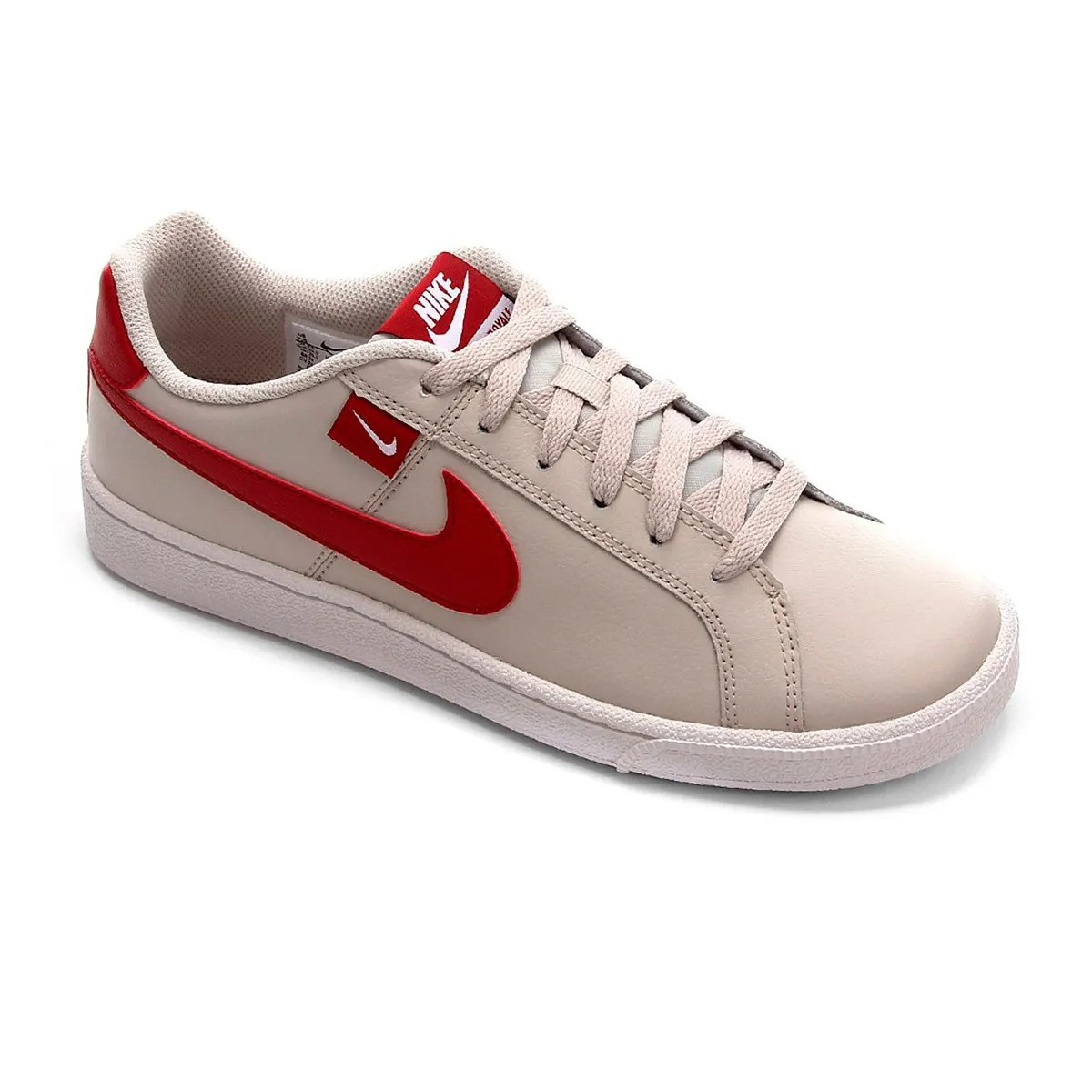 Tênis Nike Court Royale Tab Branco Vermelho