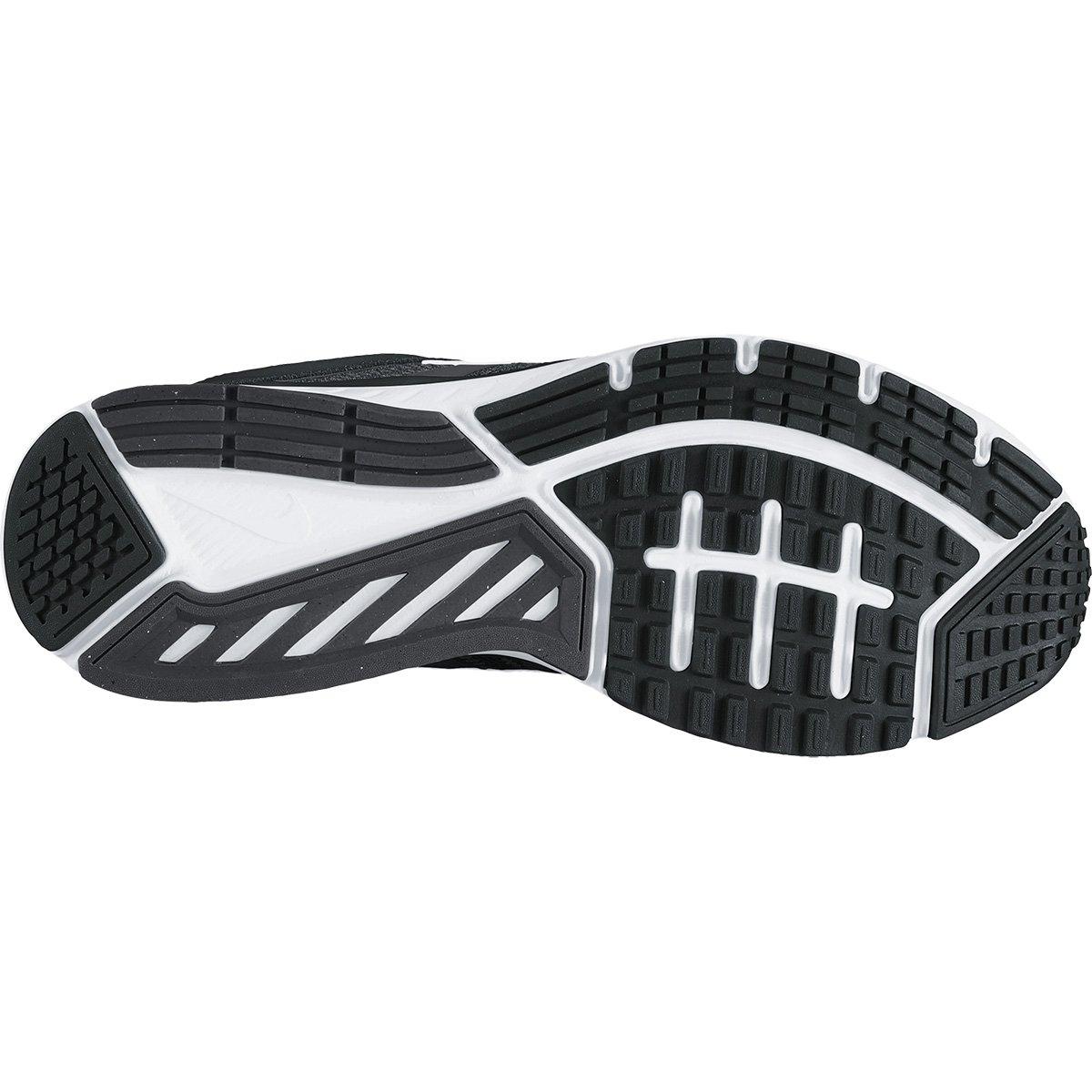 Tênis Nike Dart 12 MSL Feminino - Preto e Branco