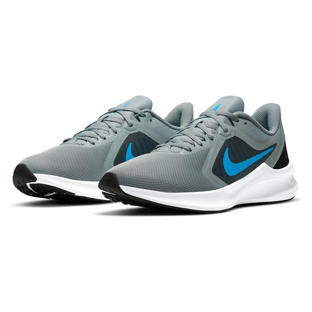 Tênis Nike Downshifter 10 Masculino Cinza Azul