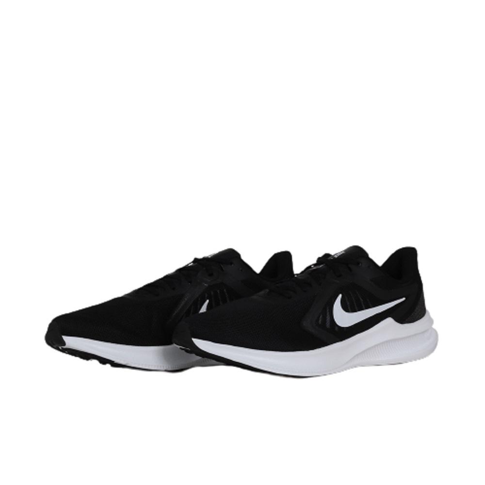 Tênis Nike Downshifter 10 Masculino Preto Branco