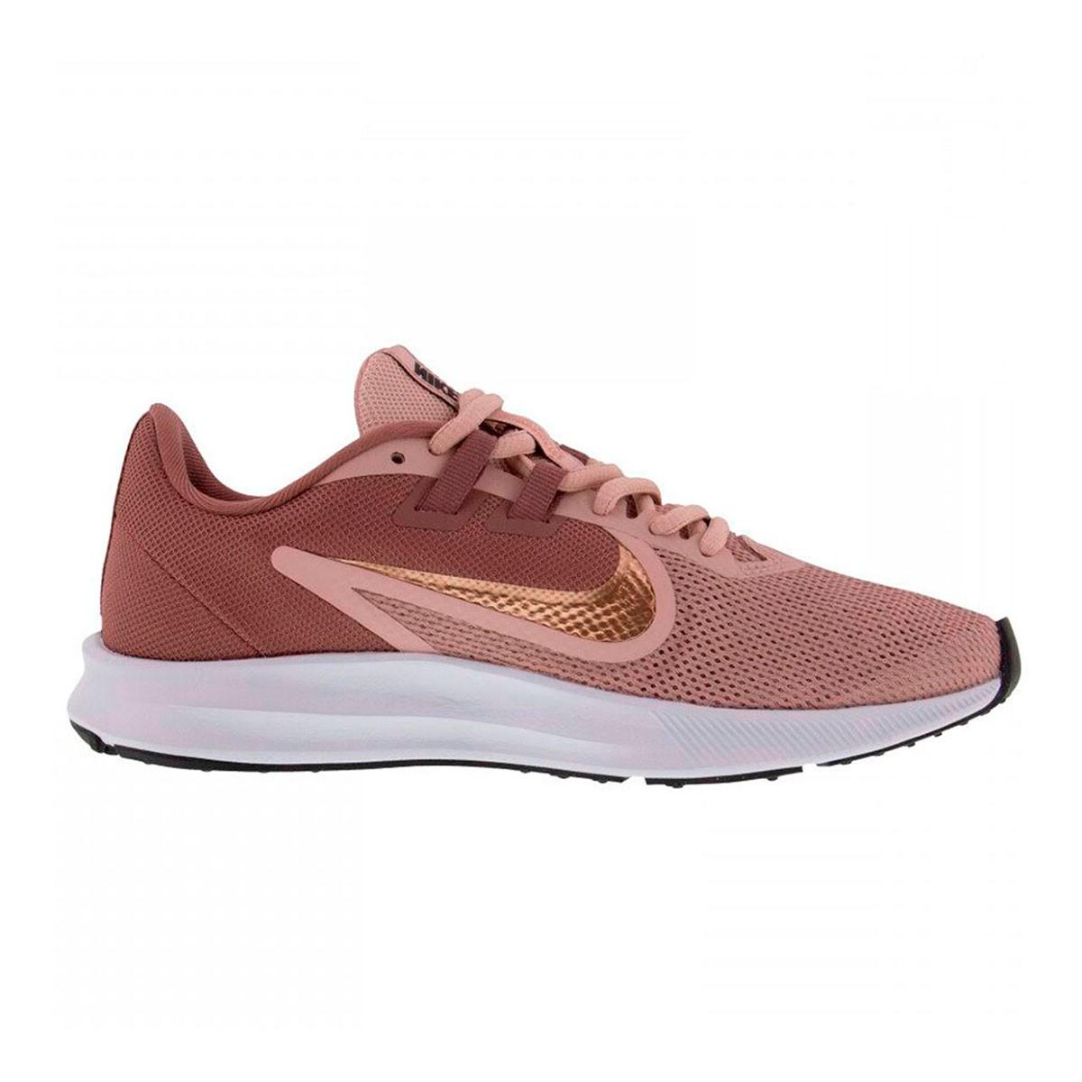 Tênis Nike Downshifter 9 GS Feminino Rosa